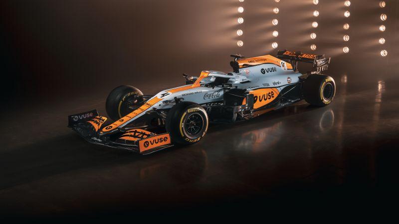 McLaren MCL35M, Formula One cars, 2021, 5K, Wallpaper