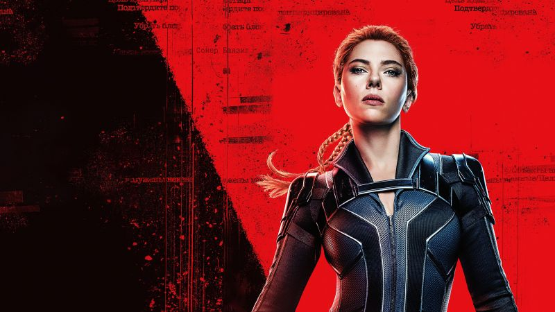 Black Widow, Scarlett Johansson, DC Comics, 2020 Movies, 5K, Wallpaper