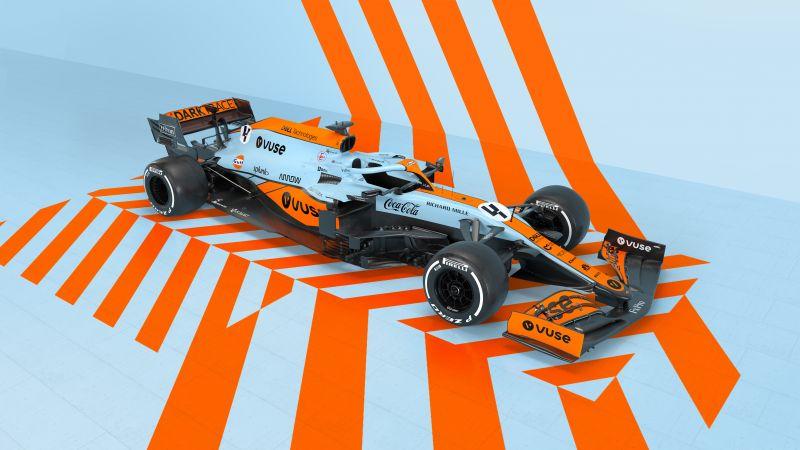 McLaren MCL35M, Formula One cars, F1 Cars, 2021, 5K, Wallpaper