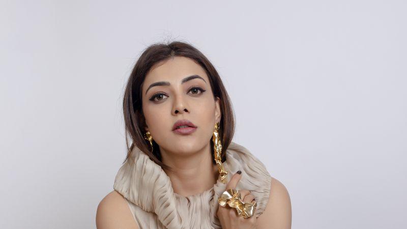Kajal Aggarwal, Indian actress, South Indian, 2021, Wallpaper