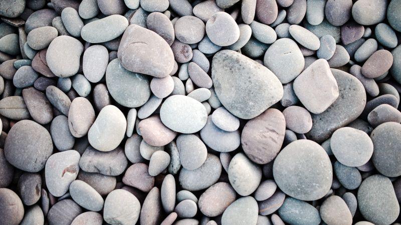 Pebbles, Stones, Texture, Pattern, Grey, Backgrounds, Wallpaper