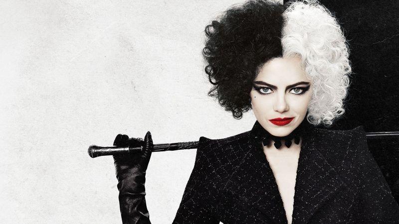 Cruella, Emma Stone, 2021 Movies, Wallpaper