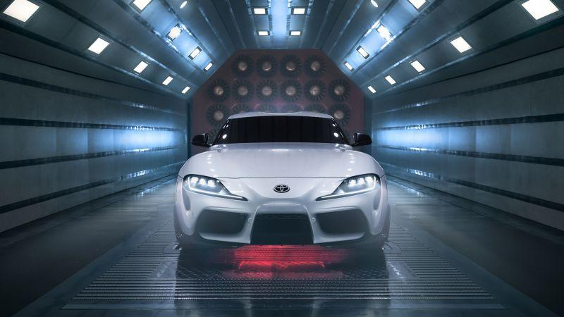 Toyota GR Supra A91-CF Edition, Carbon Fiber, Sports cars, 2022, 5K, 8K, Wallpaper