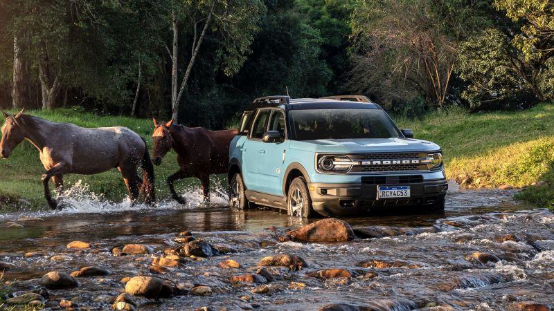 Ford Bronco Sport Wildtrak, 2021, Off-roading, Wallpaper