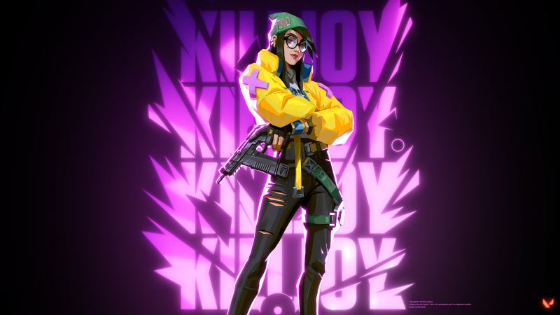 Killjoy, Valorant, PC Games, 2021, Wallpaper