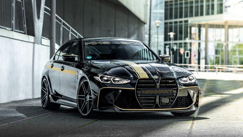 Manhart MH3 600, BMW M3 Competition, 2021, 5K, Wallpaper