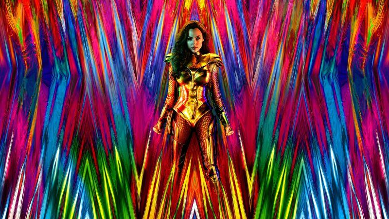 Wonder Woman 1984, Gal Gadot, DC Comics, 2020 Movies, Wallpaper