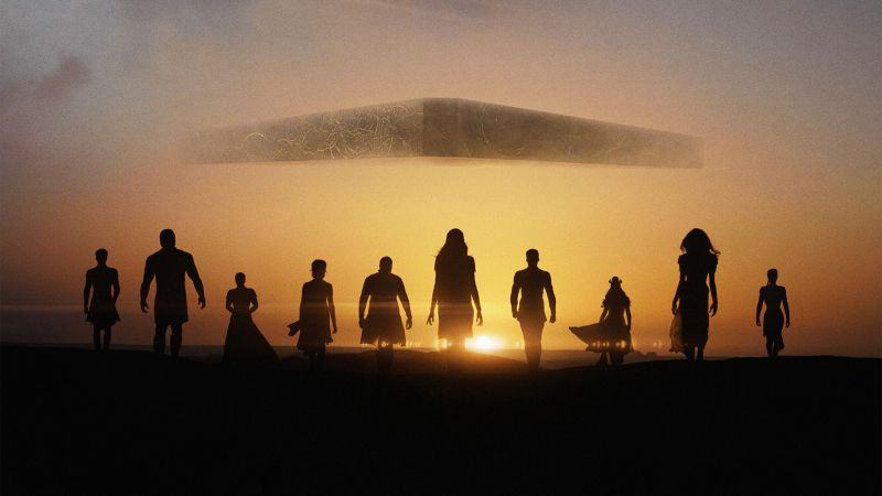 Eternals, 2021 Movies, Marvel Cinematic Universe, Wallpaper