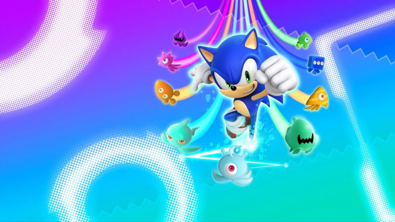 Sonic Colors: Ultimate, 2021 Games, Nintendo Switch, Wii, Nintendo DS, Wallpaper