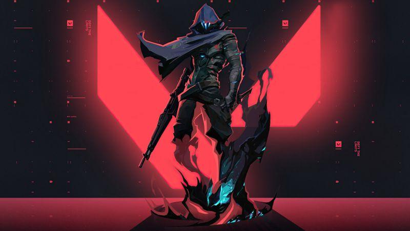 Omen, Valorant, PC Games, 2021, Wallpaper