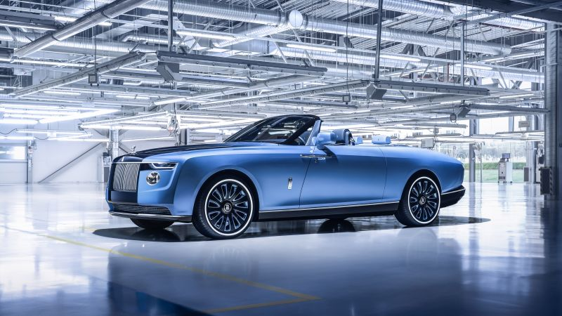 Rolls-Royce Boat Tail, World's Expensive Cars, 2021, Wallpaper
