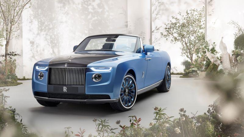Rolls-Royce Boat Tail, World's Expensive Cars, 2021, 5K, 8K, 10K, Wallpaper