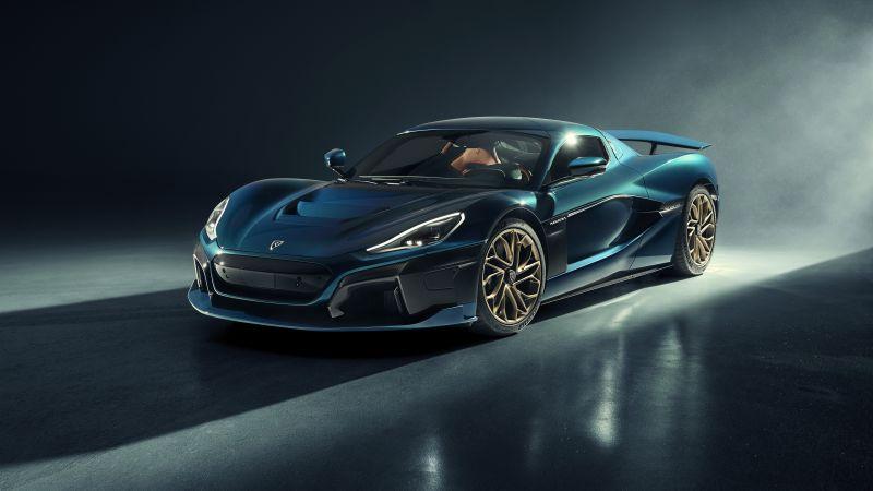 Rimac Nevera, Electric Sports cars, World's Fastest Cars, 2021, 5K, 8K, Wallpaper