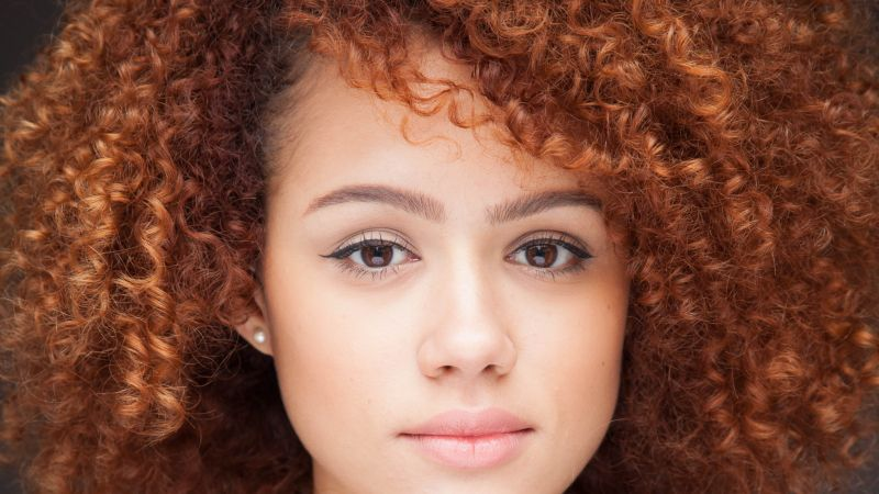 Nathalie Emmanuel, Portrait, British actress, Hollywood, Beautiful actress, Wallpaper