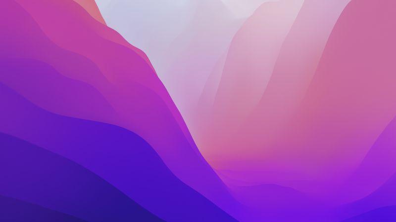 macOS Monterey, WWDC 21, Stock, 5K, Wallpaper