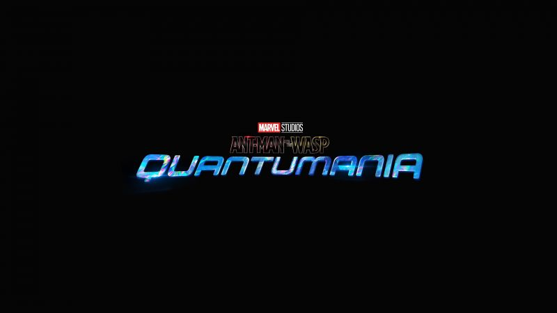 Ant-Man and the Wasp: Quantumania, 2023 Movies, Marvel Comics, Marvel Cinematic Universe, Black background, Wallpaper