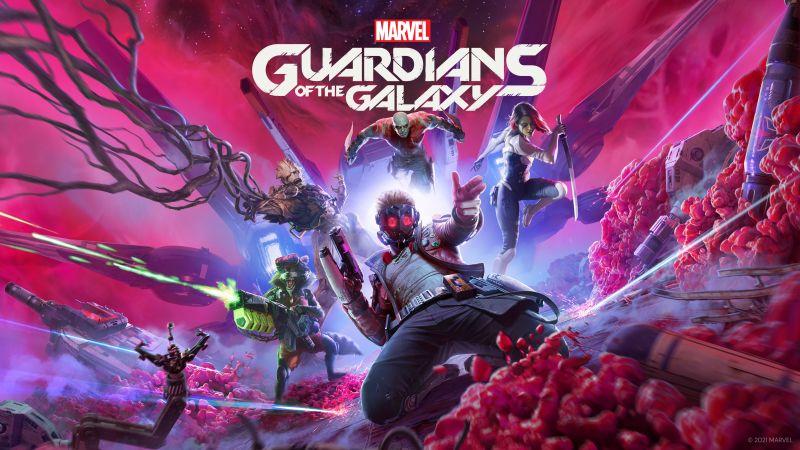 Marvel's Guardians of the Galaxy, E3 2021, 2022 Games, Marvel Superheroes, 5K, 8K, Wallpaper