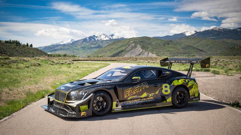 Bentley Continental GT3 Pikes Peak, 2021, 5K, Wallpaper