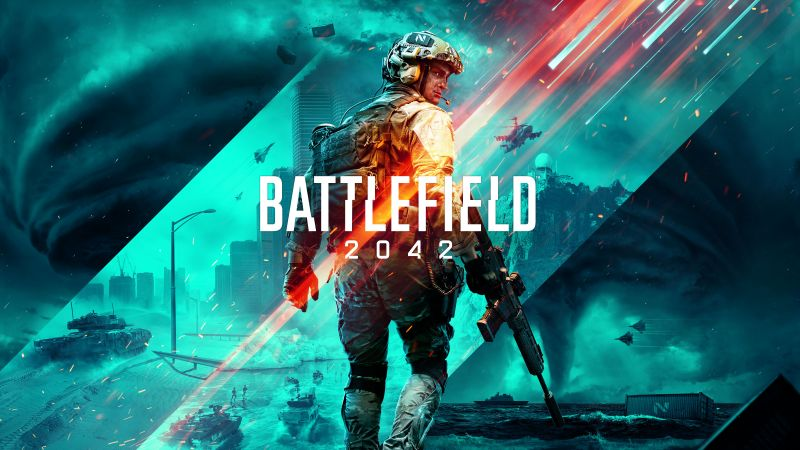 Battlefield 2042, E3 2021, PC Games, PlayStation 4, PlayStation 5, Xbox One, Xbox Series X and Series S, Wallpaper