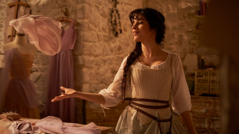 Camila Cabello, Cinderella, 2021 Movies, Wallpaper