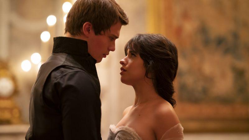 Camila Cabello, Nicholas Galitzine, Cinderella, 2021 Movies, Wallpaper