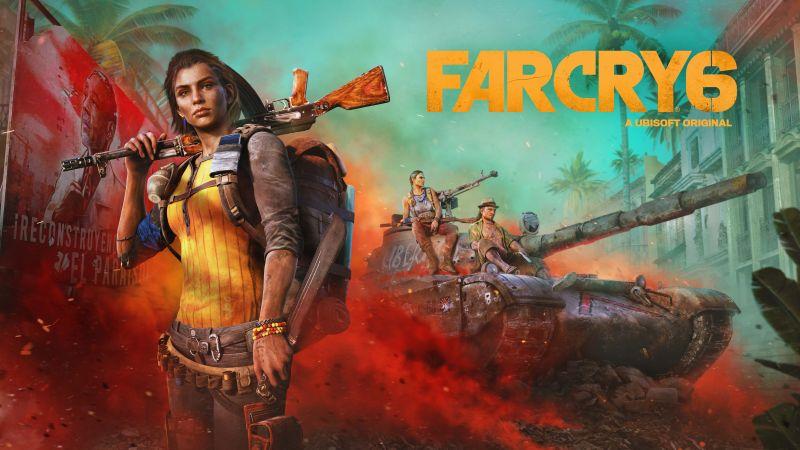 Far Cry 6, Clara Garcia, PC Games, PlayStation 4, Amazon Luna, Xbox One, PlayStation 5, Xbox Series X and Series S, 2021 Games, 5K, 8K, 10K, Wallpaper