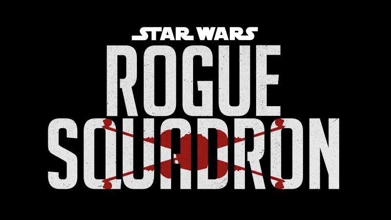 Rogue Squadron, Star Wars, 2023 Movies, Black background, Wallpaper