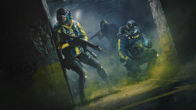 Tom Clancy's Rainbow Six Extraction, E3 2021, Gameplay, 2021 Games, PC Games, PlayStation 4, PlayStation 5, Xbox One, Xbox Series X and Series S, Wallpaper