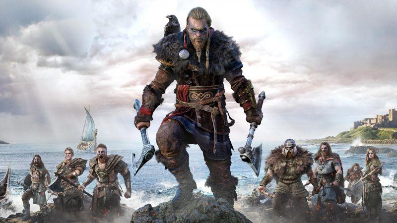 Assassin's Creed Valhalla, Eivor, Viking raider, PC Games, PlayStation 4, PlayStation 5, Xbox One, Xbox Series X, 2020 Games, 5K, 8K, Wallpaper