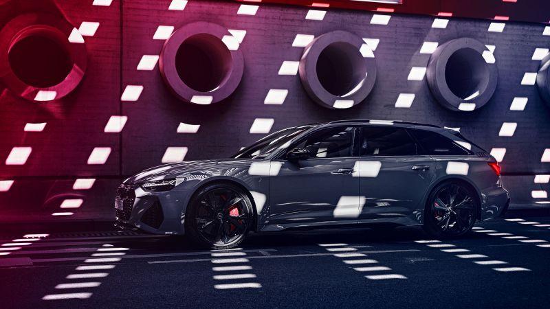 Audi RS6 Avant, Station wagon, Luxury cars, Wallpaper