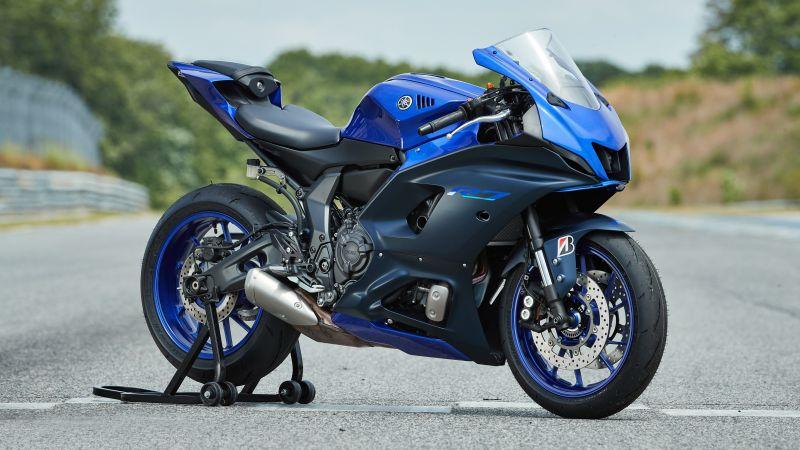 Yamaha YZF-R7, Sports bikes, 5K, 2022, Wallpaper