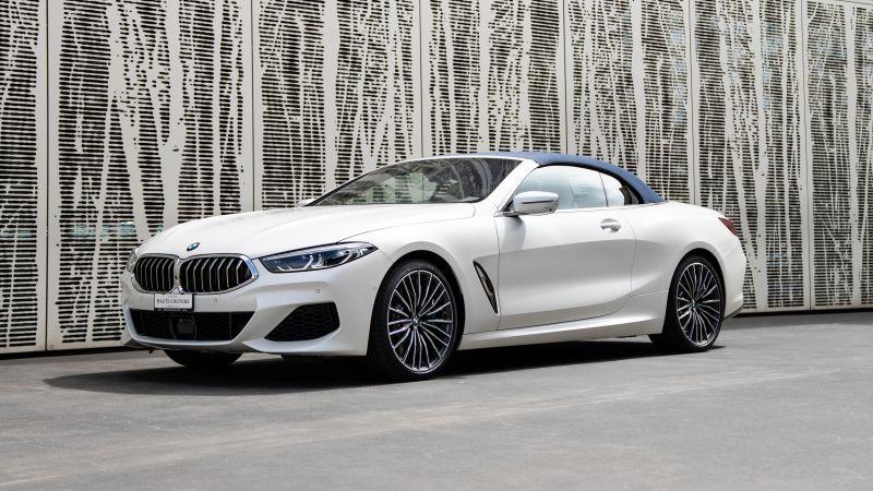 BMW 8 Series, Cabrio Edition Haute Couture, 2021, 5K, Wallpaper