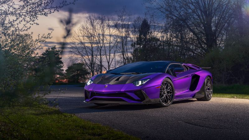 Lamborghini Aventador, Super Sports Cars, Wallpaper