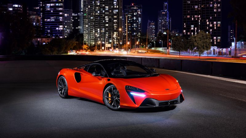 McLaren Artura, Hybrid sports car, 2021, 5K, 8K, Wallpaper
