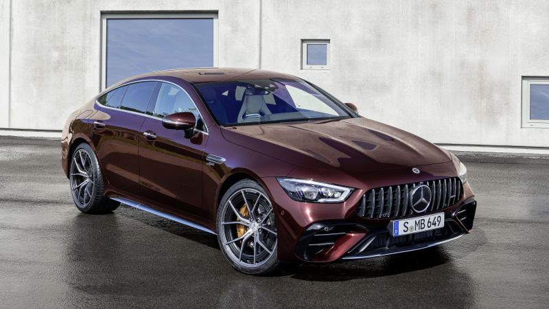 Mercedes-AMG GT 53 4MATIC+, Coupe, 2021, Wallpaper