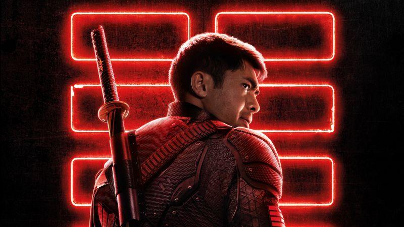 Snake Eyes, Snake Eyes: G.I. Joe Origins, 2021 Movies, Henry Golding, Wallpaper