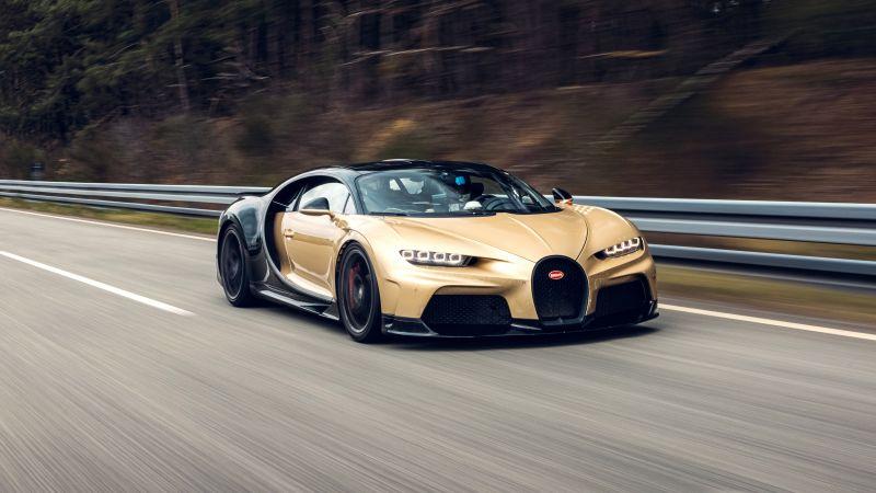 Bugatti Chiron Super Sport, Hypercars, 2021, 5K, Wallpaper