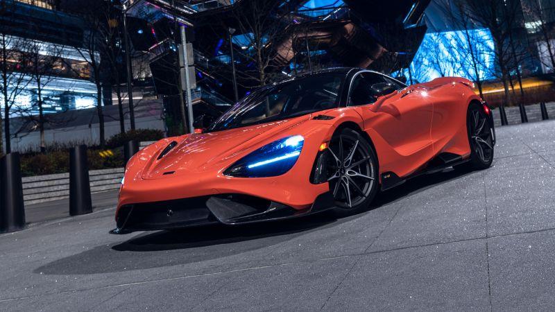 McLaren 765LT, Sports cars, 2021, 5K, Wallpaper