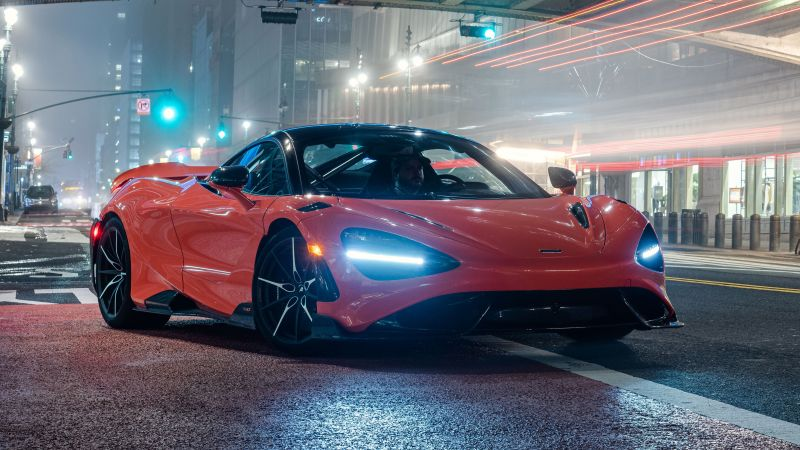 McLaren 765LT, Sports cars, 2021, Wallpaper