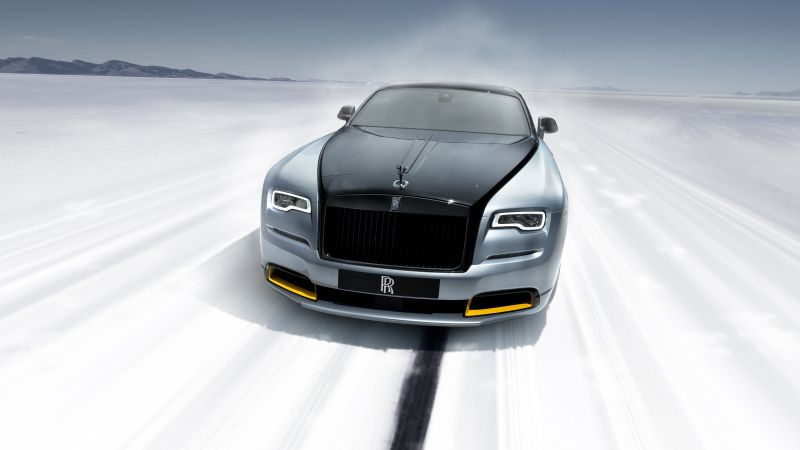 Rolls-Royce Dawn Black Badge, Landspeed Collection, 2021, 5K, 8K, Wallpaper