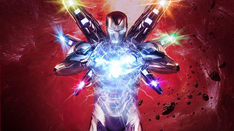 Iron Man, Avengers: Infinity War, Marvel Comics, Wallpaper