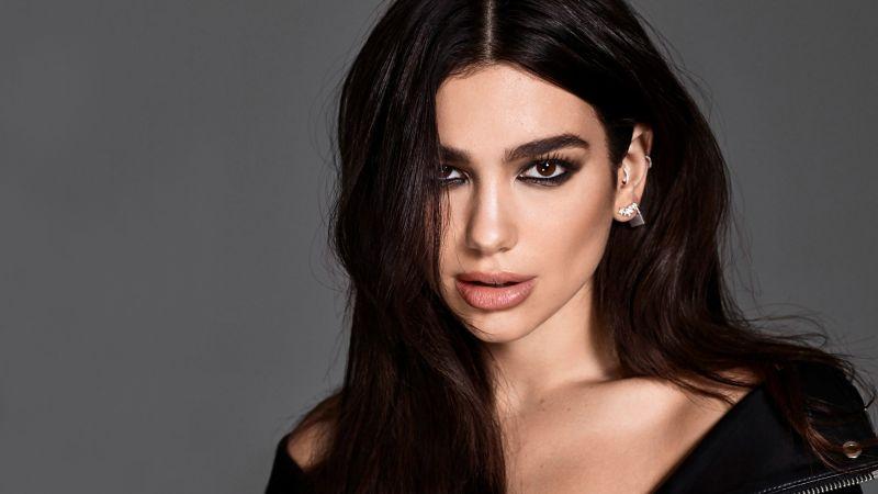 Dua Lipa, Model, Singer, Portrait, Beautiful, Wallpaper