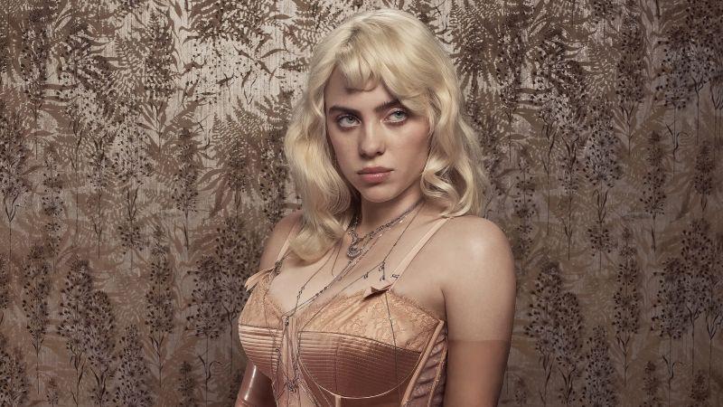 Billie Eilish, American singer, Photoshoot, Vogue, Wallpaper