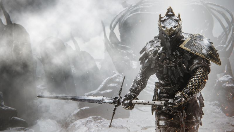 Mortal Shell, PC Games, PlayStation 4, PlayStation 5, Xbox One, Xbox Series X and Series S, Wallpaper