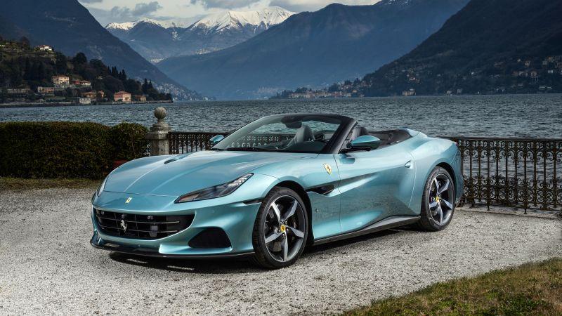 Ferrari Portofino M, Sports cars, 2021, 5K, 8K, Wallpaper
