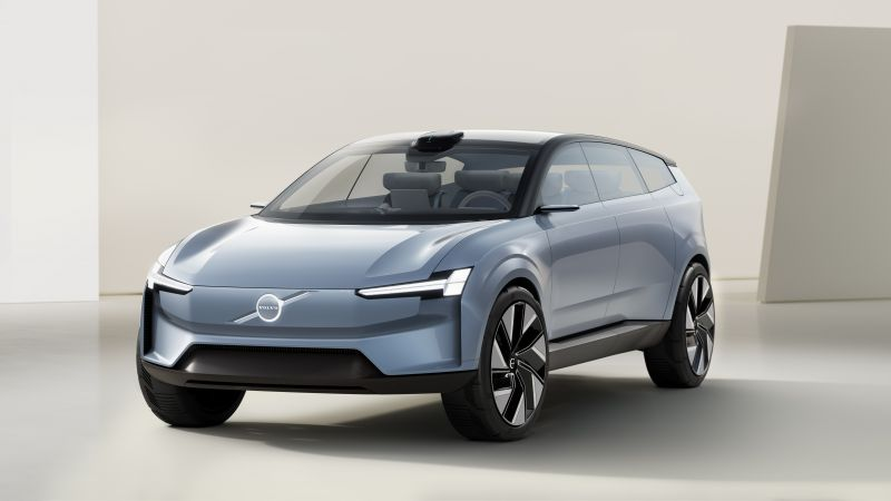 Volvo Concept Recharge, Electric SUV, 2021, 5K, Wallpaper