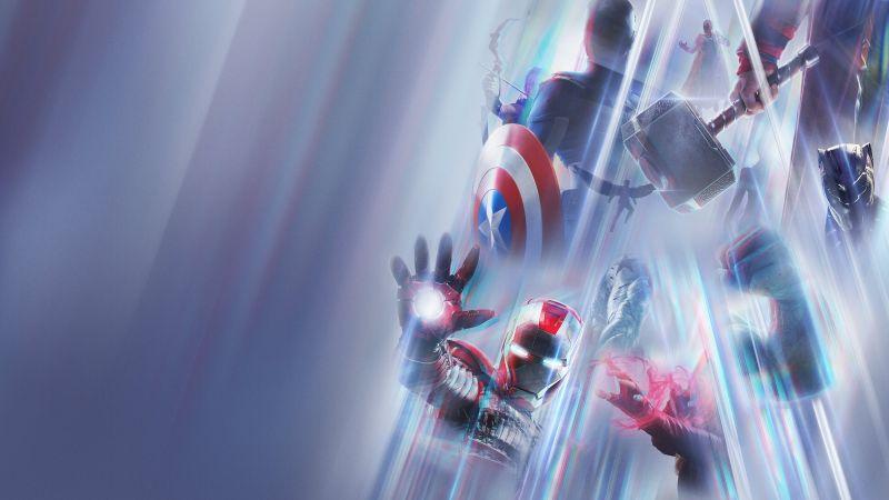 Marvel Studios: Legends, TV series, Season 1, 2021 Series, Marvel Superheroes, Iron Man, Hulk, Captain America, Thor, Star-Lord, Black Panther, Wallpaper