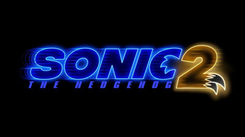 Sonic the Hedgehog 2, 2022 Movies, Black background, AMOLED, 5K, Wallpaper