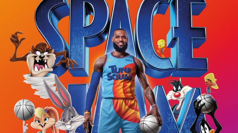 Space Jam: A New Legacy, 2021 Movies, Comedy, LeBron James, Wallpaper