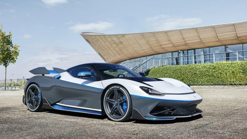 Pininfarina Battista Anniversario, Electric cars, Hypercars, 5K, Wallpaper